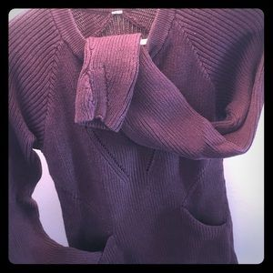 Lululemon knit sweater with pockets